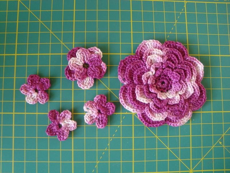 Flor crochet | El baúl de chimos