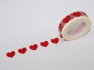 Washi Tape Corazón